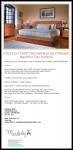 November 5 - Discover the Benefits of Well Made Furniture with Manderley, Home of Stickley