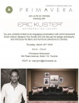 Mar 22 - Meet Dutch Designer Eric Kuster @ Primavera