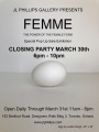 Mar 3 to 31 - FEMME: The Power of the Female Form