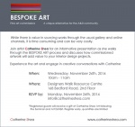 Nov 26 - Catherine Shea Fine Art Exhibition