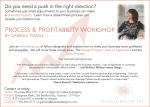 Mar 9 - Process & Profitability Workshop